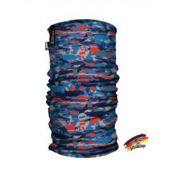 德國 HAD 多功能頭巾/快乾領巾 HA110-0903 藍色迷彩--補貨中