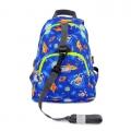 英國 HUGGER Grabby Bag S 兒童旅行家小號背包 #3339-外太空