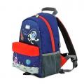 英國 HUGGER Let's go M 兒童旅行家中號背包 #3344-太空漫步