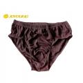 Joyoung 男性銀纖維抗菌排汗三角內褲(黑色)