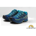 La Sportiva 義大利Men's Ultra Raptor GTX Mountain Running Shoes 男款越野跑鞋26R-617705 靛藍/蘋果綠 EU41~45