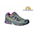 La Sportiva 義大利Women''s Ultra Raptor GTX Mountain Running Shoes 女款越野跑鞋26S-903500 石板灰/紫 EU37~41