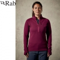 Rab 英國 Power Stretch Pro Pull-On 女款 保暖刷毛衣 #QFE63-BY 醬果紫S、M、XL號