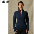 Rab 英國 Power Stretch Pro Pull-On 女款 保暖刷毛衣 #QFE63-DI 深墨藍S~XL號