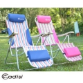 ADISI 頭等艙椅AS15258 /藍色線條、粉紅線條 (戶外休閒桌椅.折疊椅.大川椅)