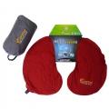 ADISI 隨身U型自動充氣枕-PI-107BU-紫色、紅色、藍色