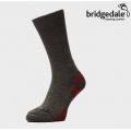 英國BRIDGEDALE HIKE LIGHTWEIGHT BOOT 男款 健行家 四季美麗諾中筒輕量襪 #710152-124 GH灰