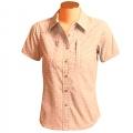 Cloudveil W Windknot Shirt 女性短袖排汗襯衫(紅色XS、S號/零碼出清)