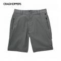 Craghoppers Rapid Shorts 男性雷皮特彈性防曬快乾短褲-灰色30、32號/六折出清