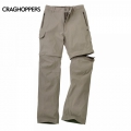 Craghoppers Kiwi Pro Stretch Convertible Trousers 男性奇威彈性快乾兩截褲-CMJ304R08X 砂色
