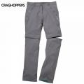 Craghoppers Kiwi Pro Stretch Convertible Trousers 女性奇威彈性快乾兩截褲-白金灰色(8,12號/六折出清)
