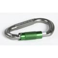 EDELWEISS法國 GUARD3 鋁合金變D型 三段自動上鎖鉤環-灰色、紅色