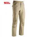 Fjallraven Cape Town Stretch Trousers 男性快乾彈性休閒長褲 - 81694236 卡其色(46號)