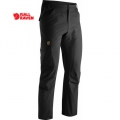 Fjallraven Cape Town Stretch Trousers 男性快乾彈性休閒長褲 - 81694550 黑色