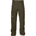 Fjallraven Iceland Trousers 男性耐磨多口袋工作褲 - 81230633 深橄欖