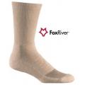 Fox River 1328 STR 步行者-中統步行襪-CoolMax(黑色,砂色)