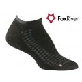 Fox River 1587 W Endurance Ankle 女性印都倫無統快乾步行襪(黑色 L號)