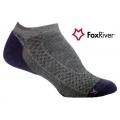 Fox River 1587 W Endurance Ankle 女性印都倫無統快乾步行襪(灰藍色 L號)
