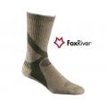 Fox River 2348 Himalaya Crew Primaloft 喜瑪拉雅中統羊毛健行襪-褐灰M、霧灰L