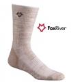 Fox River 2458 Off Road AXT 探路者中統羊毛排汗襪-燕麥色