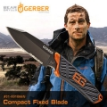 GERBER Bear Grylls Compact Fixed Blade貝爾系列直刀(半齒半刃) #31-001066