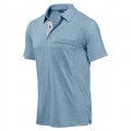 Golite M Wicklow Shortsleeve Travel Polo 男性吸濕排汗POLO衫(灰藍色M號 五折出清)