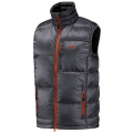 Golite M Beartooth 650 Fill Down Vest 男性 羽絨背心(灰橘色 XL號)