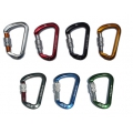K2 鋁合金D型手動保險鉤環 k2-0025