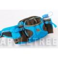 K2 多功能腰包(天藍色)K2-0197-2 隨身包/透氣背墊/登山健行/單車路跑