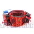 K2 多功能腰包(棗紅色)K2-0197-3 隨身包/透氣背墊/登山健行/單車路跑