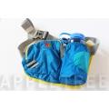 K2 輕量腰包(天藍色)K2-0196-2 隨身包/透氣背墊/登山健行/單車路跑