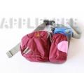 K2 輕量腰包(紫色)K2-0196-3 隨身包/透氣背墊/登山健行/單車路跑