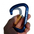 K2 鋁合金變D型半自動保險鉤環 K2-0027