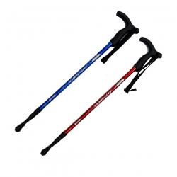 K2 雙用T把避震登山杖
