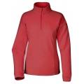 Lafuma LD GREENLIGHT 1/2 Zip Sweater  女性半門襟薄刷毛保暖上衣-LFV9338(玫紅色)