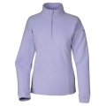 Lafuma LD GREENLIGHT 1/2 Zip Sweater  女性半門襟薄刷毛保暖上衣-LFV9338(紫色)