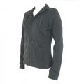 Lafuma LD Havasu Full Zip 女性刷毛外套--黑色S號 #LFV8450/零碼出清