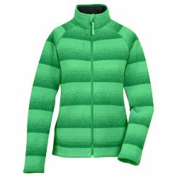 Lafuma LD D-Idaho Zip 女性輕薄刷毛外套-LFV8451綠色S,L號(5折出清)