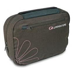 Lifeventure Wash Bag Large 大型盥洗包-咖啡+紅色