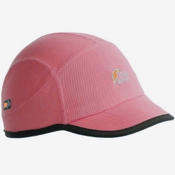 Lowe Alpine W Dual Fiber Cap 女性DF雙纖排汗帽--深珊瑚紅M號/六折出清