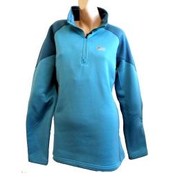 Lowe Alpine Elite power stretch top 女款彈性保暖立領長袖上衣(天空藍色)