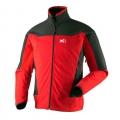 Millet MIV4260 DUAL SOFTSHELL 男款 防風保暖軟殼外套(紅色M號 六六折出清)