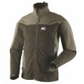 Millet DUAL SOFTSHELL 男款 防風保暖軟殼外套--灰綠色 L號 #MIV4260-2318 /零碼出清