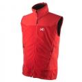 Millet MIV4261 DUAL SOFTSHELL男款 防風保暖背心-M號紅色款 七折出清