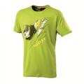 Millet ELBRUSE T-SHIRT SHORT SLEEVE 男性圓領短袖排汗衫(MIV4477-4331, 綠色L號 五折出清/運費另計)