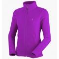 MILLET LD GREAT ALPS Jacket 女款 刷毛保暖外套--亮紫羅蘭M , XL號 #MIV4760-6559/過季出清