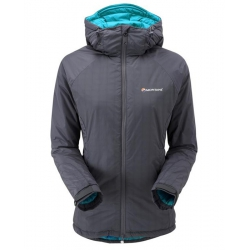 Montane W Flux Jacket 女款暖流 Primaloft 化纖保暖外套(灰色 L、XL號) [過季零碼↘66折]