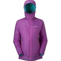 MONTANE W PRISM JACKET 女款普萊欣PRIMALOFT保暖外套 - 紫色 XL號 大特價!