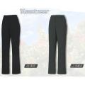 Mountneer 女性彈性抗UV休閒長褲--深鐵灰L號、黑色XL號