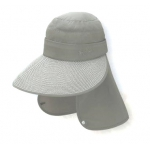 Mountneer 中性透氣抗UV護頸遮陽帽